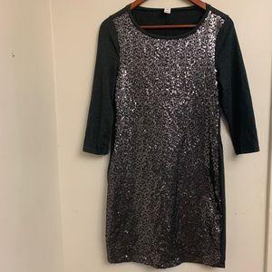 Express sequin dress- S